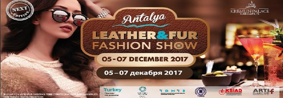 Antalya leather fashion show